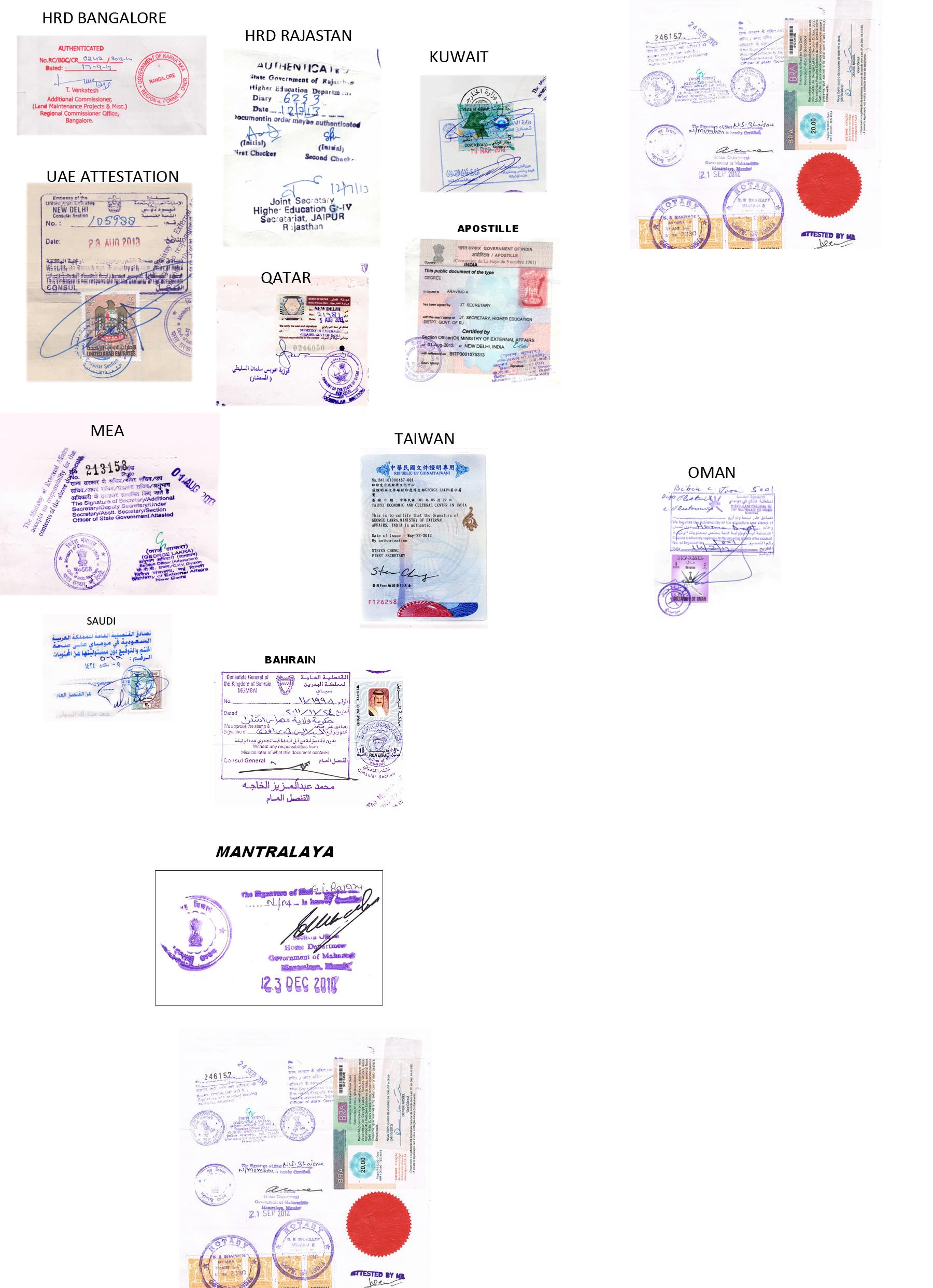 Single status certificate unmarried certificate bachelor click here to view samples of seals of various embassies yadclub Images